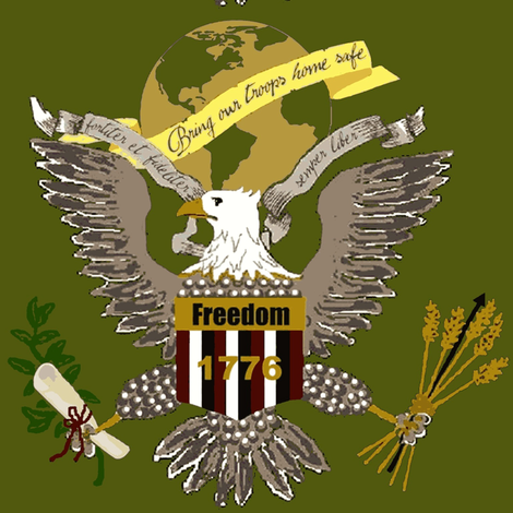 freedom strong fabric by paragonstudios on Spoonflower - custom fabric