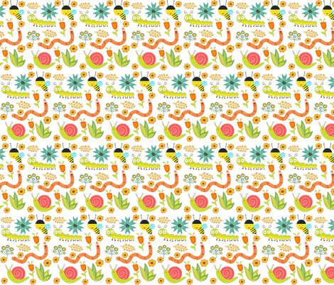 Spring Critters  fabric by icarpediem on Spoonflower - custom fabric