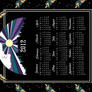 2012 Tea Towel Calendar II.