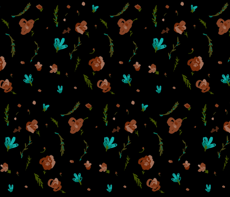 my  rose garden fabric by isabella_asratyan on Spoonflower - custom fabric