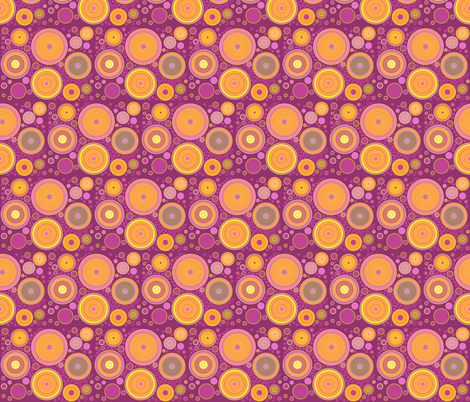 just circles fabric by isabella_asratyan on Spoonflower - custom fabric