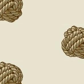 Monkey Knot Polka Dot - Neutrals