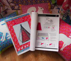 Cut & Sew Woodland Kids Play Teepee Tent: CLICK HERE FOR PROJECT IMAGES