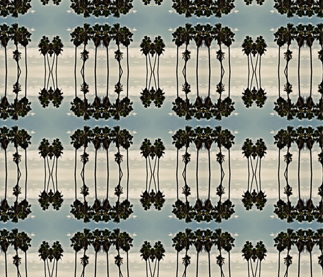 palm trees in the delta breeze fabric by codalion on Spoonflower - custom fabric