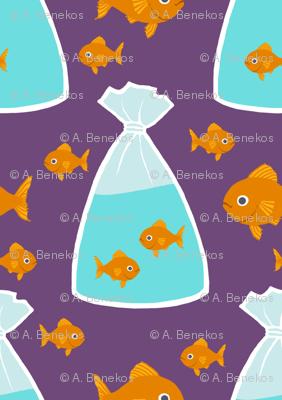 Bags of Goldfish