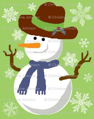 Mr Freezy  snowflakes