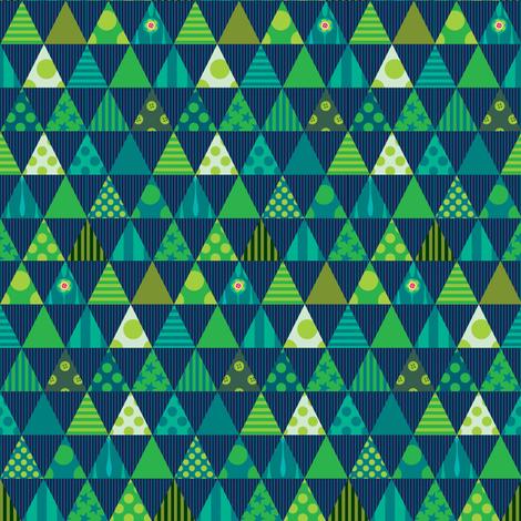 Festive in Green fabric by spellstone on Spoonflower - custom fabric
