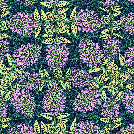 pink lavender fabric by glimmericks on Spoonflower - custom fabric