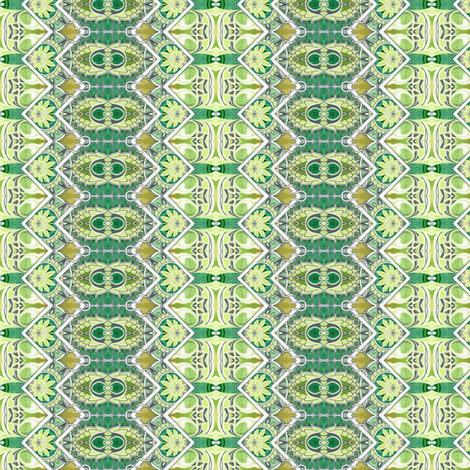 Artichoke Zig Zag fabric by edsel2084 on Spoonflower - custom fabric