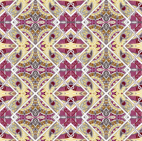 Cheery in Cherry fabric by edsel2084 on Spoonflower - custom fabric