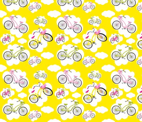 Bike Heaven fabric by deesignor on Spoonflower - custom fabric