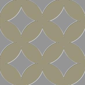 Diamond shades of pewter