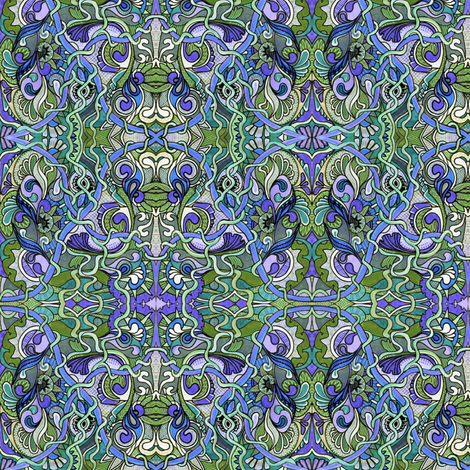 Paisley Party fabric by edsel2084 on Spoonflower - custom fabric