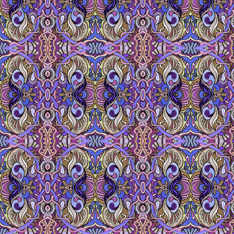 Wing It (in purple) fabric by edsel2084 on Spoonflower - custom fabric