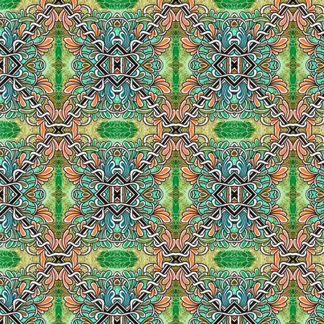Spring Patchwork fabric by edsel2084 on Spoonflower - custom fabric