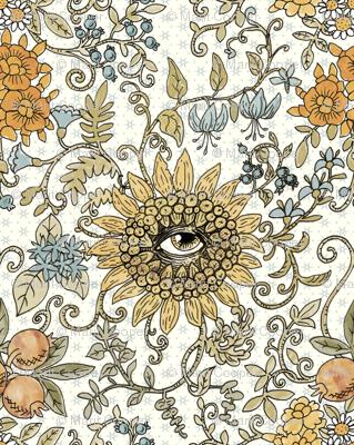 Mutant Helianthus Floral