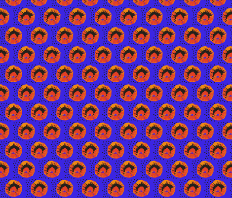 Dot-Dot-Dot-medium small fabric by susaninparis on Spoonflower - custom fabric