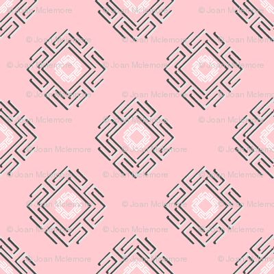 Fretwork in pink