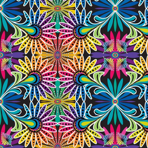Rainbow Feather Kaleidescope