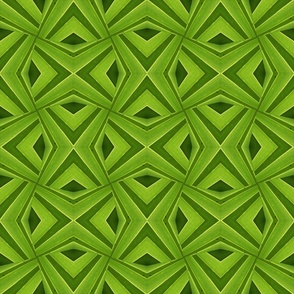 Green Diamond Pattern
