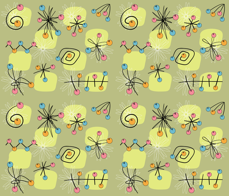 atomic_green fabric by peppermintpatty on Spoonflower - custom fabric