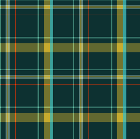 Forest Plaid fabric by gimlet on Spoonflower - custom fabric