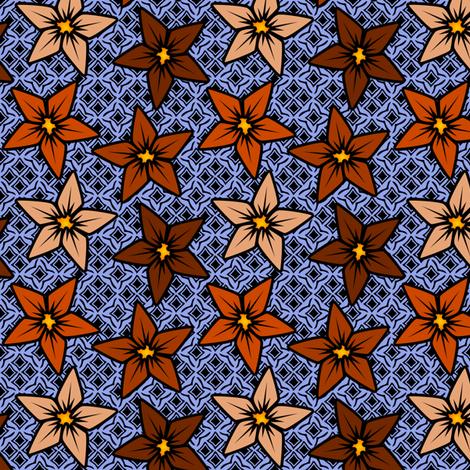 rustflower fabric by glimmericks on Spoonflower - custom fabric