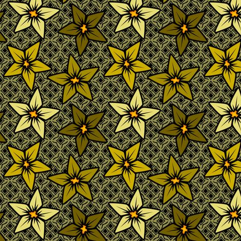 mustardflower fabric by glimmericks on Spoonflower - custom fabric