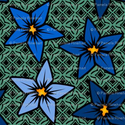 bluegreenfflower