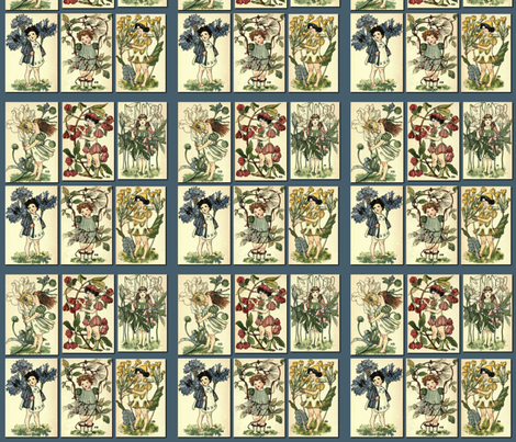 Vintage Garden  fabric by icarpediem on Spoonflower - custom fabric