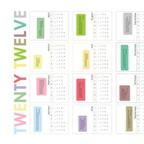 2012 Motivate Me Calendar