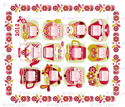 Domestic bliss calendar 2012