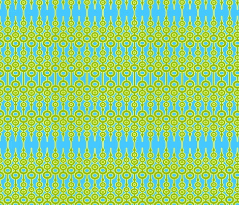 Key Lime Ornament fabric by thirdhalfstudios on Spoonflower - custom fabric