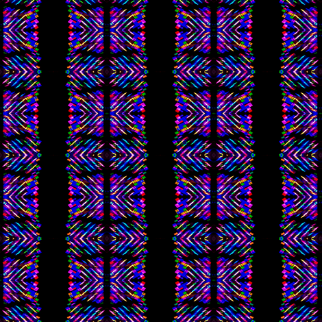 Neon Stripes fabric by glennis on Spoonflower - custom fabric