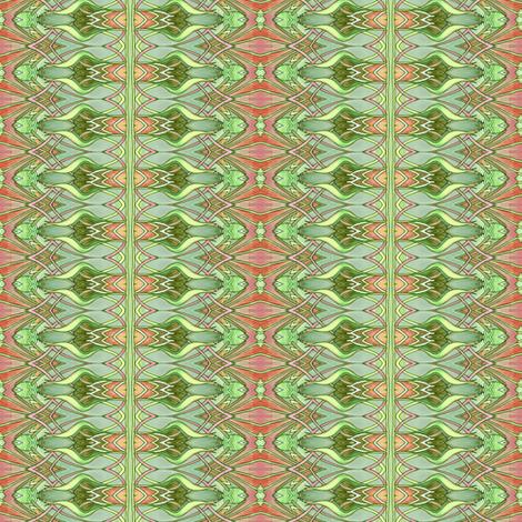 Tiny Nouveau Mad Zig Zag Plaid fabric by edsel2084 on Spoonflower - custom fabric