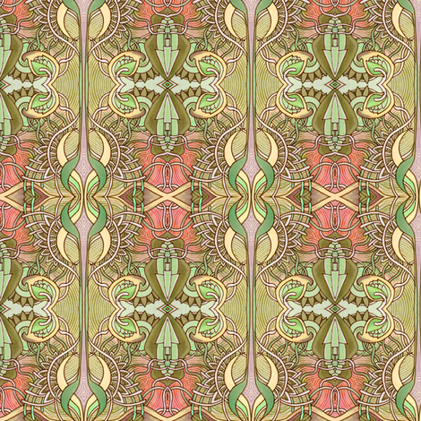 When I Close My Eyes I hope I never See any of These Things fabric by edsel2084 on Spoonflower - custom fabric