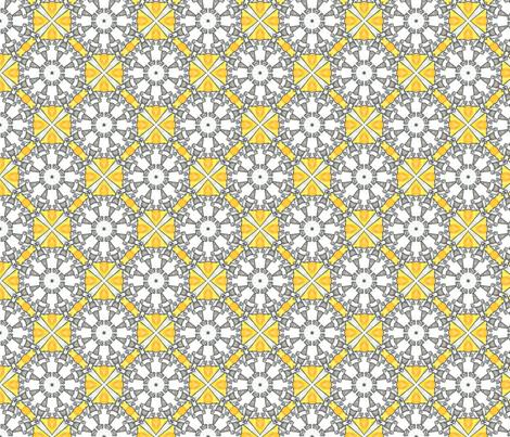 Waiteri's Octagons fabric by siya on Spoonflower - custom fabric