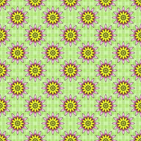 Passionflower fabric by siya on Spoonflower - custom fabric