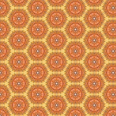 Hia's Sunburst fabric by siya on Spoonflower - custom fabric