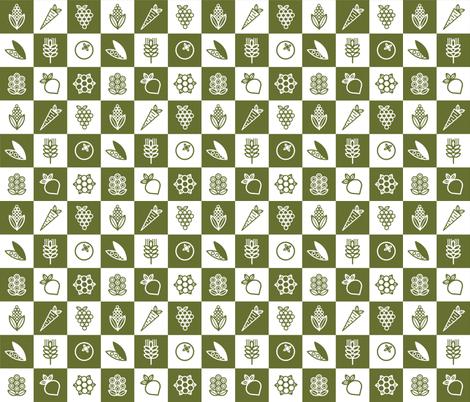 Mod Garden fabric by carolina_medberg on Spoonflower - custom fabric
