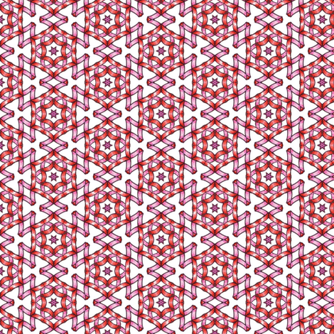 Secheli's Ribbonstars fabric by siya on Spoonflower - custom fabric