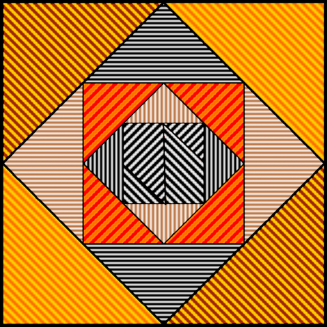 DesignPatternsLayouts4 fabric by grannynan on Spoonflower - custom fabric