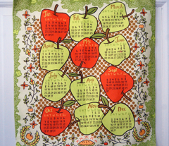2012 Tea Towel