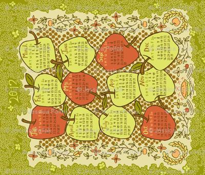 2012 Tea Towel