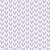 Bright Lavender sprigs -- allover pattern two