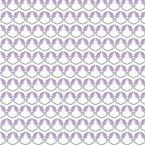 Bright Lavender sprigs -- allover pattern one