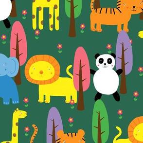 Animals & Trees