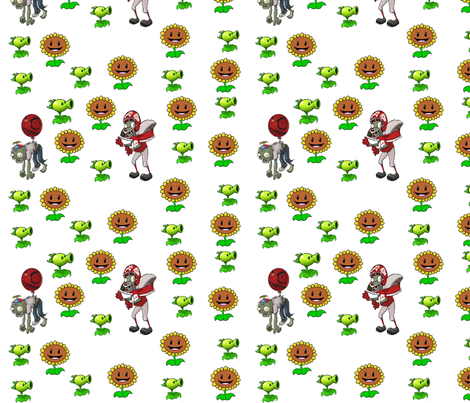 pvz fabric by geekinspirations on Spoonflower - custom fabric