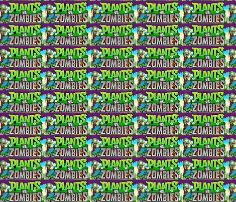 zombies fabric by geekinspirations on Spoonflower - custom fabric