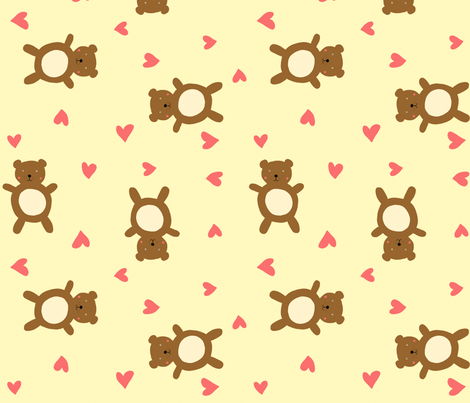 Bears fabric by lydia_meiying on Spoonflower - custom fabric
